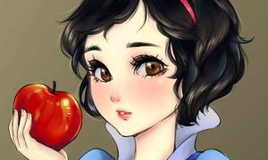 Công chúa Disney đi cắt mí, mắt to tròn như nhân vật manga