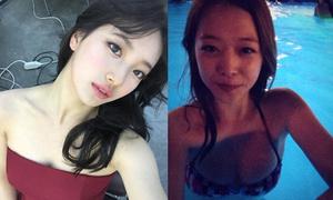 Sao Hàn 27/2: Suzy khoe vai trần, Sulli bị 'ném đá' vì ảnh vòng 1 sexy