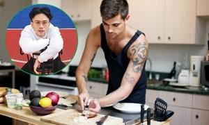 'Hot boy nấu ăn' chỉ 10 điều quyến rũ của con trai khi vào bếp