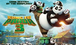 Tặng độc giả 4 cặp vé xem ra mắt phim 'Kungfu Panda 3'