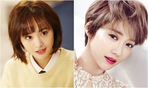 2 cô nàng tóc ngắn Trịnh Sảng - Go Joon Hee đọ sức trên truyền hình