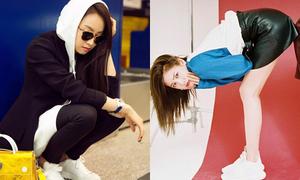 Sao Hàn 3/3: Victoria đốn tim fan nữ, Nana tạo dáng kỳ quặc kém duyên