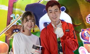 Quỳnh Anh Shyn hẹn hò xem phim cùng Vương Anh