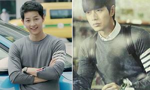 Song Joong Ki đụng áo len 17 triệu với cả loạt sao Hàn