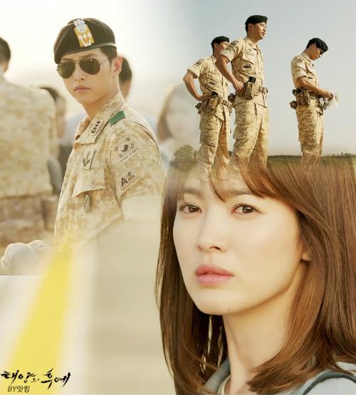 """Hậu duệ của Mặt trời - bộ phim Hàn mới đang được nhiều bạn theo đuổi từng tập. Mỗi tối thứ 4 - 5 có tập mới là lại thức """"hóng"""" tình tiết mới trên các diễn đàn và chờ phụ đề để xem ngay cho nóng."""