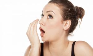 Khử mùi hôi miệng nhanh, an toàn sau khi ăn