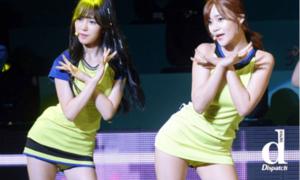'Vũ khí' bí mật giúp nữ idol Hàn không sợ hớ hênh