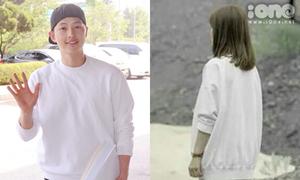 Song Hye Kyo - Song Joong Ki bị phát hiện 'mặc chung đồ'