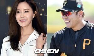 Hyo Min (T-ara) phủ nhận tin hẹn hò với cầu thủ bóng chày