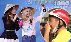 Thêm một chàng trai Việt bật khóc vì T-ara