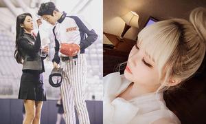 Sao Hàn 16/3: Seol Hyun lau mồ hôi cho trai đẹp, Qri xinh như búp bê