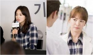 Song Hye Kyo mặc lại đồ cũ, Kim Ji Won tự nhận mình sexy