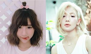 4 kiểu tóc ngắn cực xinh đáng để 'xuống kéo' hè này