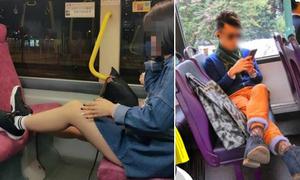 Những hành động vô duyên khi đi xe buýt