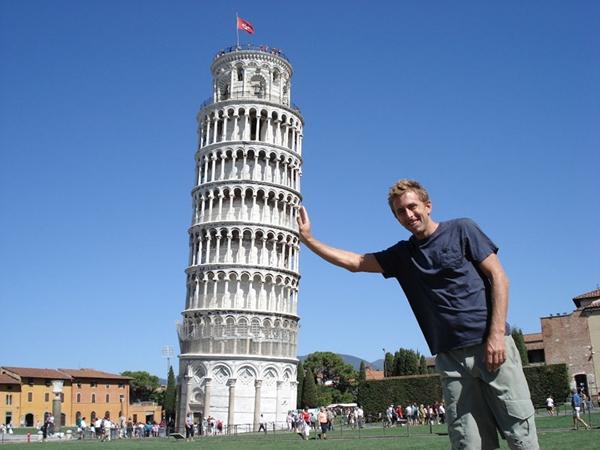 Tháp nghiêng Pisa ở Ityaly là nơi ai cũng muốn đến