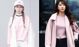 Sao style 20/3: Min, Quỳnh Anh Shyn diện màu hồng mà không sến