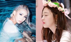Sao Hàn 21/3: Sulli khoe vẻ đẹp hơn hoa, CL quyến rũ như nàng tiên cá