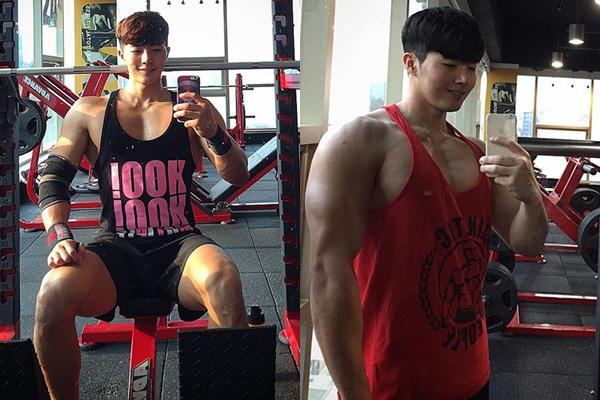 Seong Min có chế độ ăn và tập luyện riêng để rèn cơ bắp, anh thường chia sẻ những   bữa ăn phong phú, nhiều đạm của mình trên Instagram với hơn 52.000 người theo   dõi. Cơ bắp của Seong Min