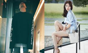 Sao Hàn 22/3: Suzy đi sandal đế 'khủng', Tae Yang đụng áo với cả loạt sao