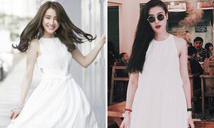 Sao style 22/3: Nhã Phương, Hà Lade mỗi người một vẻ với váy trắng