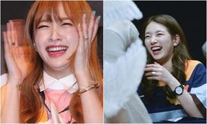 Những nụ cười cằm hai ngấn của loạt idol Hàn
