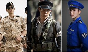 Những chàng quân nhân trên màn ảnh châu Á khiến bao trái tim thổn thức