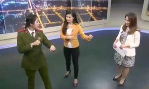 Nữ sinh 'kẹp cổ 3 côn đồ' dạy võ trên truyền hình