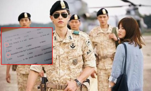 'Hậu duệ mặt trời' và mỹ nam Song Joong Ki vào đề thi tiếng Anh