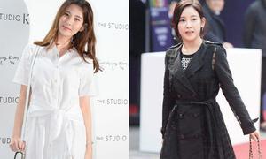 Seo Hyun diện váy nhàu, So Yeon tự 'dìm' dáng ở Seoul Fashion Week