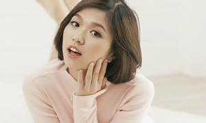 Tân binh Vpop Suni Hạ Linh mix tông pastel xinh như gái Hàn
