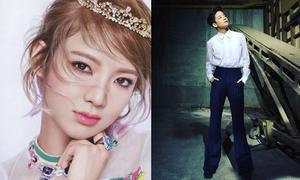 Sao Hàn 26/3: Hyo Yeon xinh đẹp khác lạ, Amber hóa soái ca sơ mi trắng
