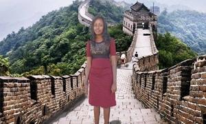 Thường xuyên check-in bằng photoshop, cô gái được du lịch miễn phí
