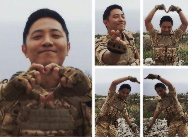 """Jin Goo chia sẻ: """"Dường như tôi đang có một cơ hội khác để khởi đầu hoàn toàn   mới"""". Sau 14 năm theo nghiệp diễn, lần đầu tiên anh nhận được phản hồi lớn như   vậy từ khán giả. Tài khoản Instagram của Jin Goo mới lập đã thu hút hơn 400.000   người theo dõi, thể hiện độ hot nhanh vượt bậc sau Hậu duệ mặt trời."""