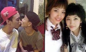 Sao Việt 29/3: Soobin 'hôn' bạn đồng giới, Hari Won khoe ảnh thời 'trẻ trâu'