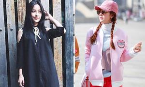 Sao style 29/3: Chi Pu đáng yêu như búp bê, Minh Hằng tươi trẻ sắc hồng