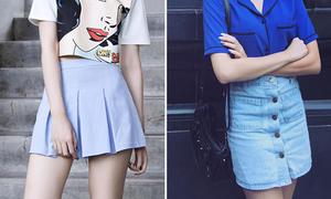 5 kiểu chân váy sành điệu mùa hè ai cũng nên sắm một chiếc
