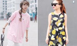 Sao style 31/3: Min diện áo hồng như 'thiếu nhi', Yến Trang mát mẻ với đồ quả dứa