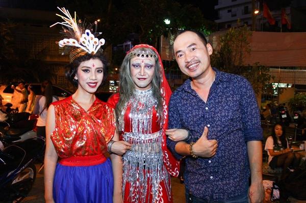 Huỳnh Lập thân thiết với vợ chồng nghệ sĩ hài Thu Trang - Tiến Luật.