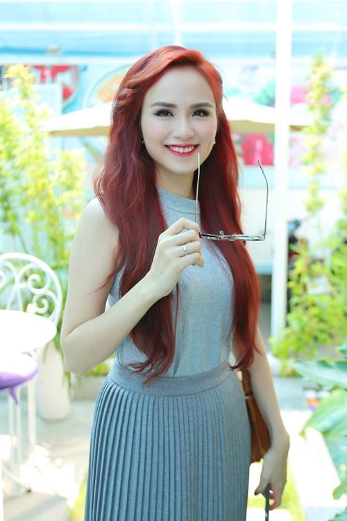 Mới đây Hoa hậu Diễm Hương được mời tham gia một chương trình giao lưu ẩm thực Việt - Nhật.