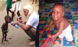 Cậu bé Nigeria bị bỏ đói suýt chết ngày ấy - bây giờ