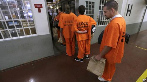 Cuộc sống của các phạm nhân trong tù ở Mỹ.