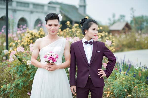 Để lưu giữ những khoảnh khắc hạnh phúc, cặp đôi Phạm Xuân Quý  Phạm Linh Trang đến từ Hà Nội.