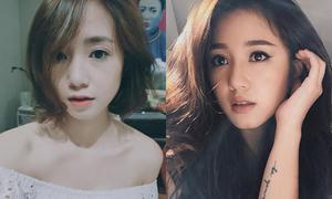 Nhan sắc khác biệt của sao Việt khi makeup kiểu châu Á và phương Tây