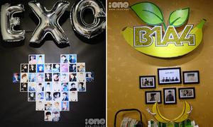 23 FC Kpop tưng bừng bày bán đồ thần tượng tại Hà Nội