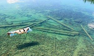 Hồ nước nông hay sâu?