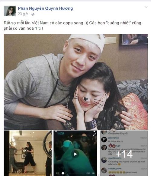 Vương Anh, Quỳnh Hương ngán ngẩm trước sự thể hiện thái quá của fan trước sự xuất hiện của thần tượng Kpop.
