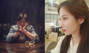 Sao Hàn 4/4: Seo Hyun ngày càng xinh đẹp, Park Seo Joon tóc bổ luống giả nai