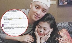 Fan cuồng Seung Ri 'khủng bố' FB Á hậu Tú Anh vì ảnh thân mật với thần tượng