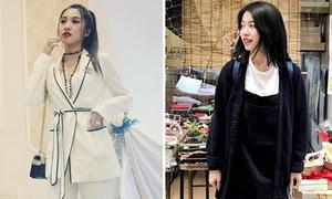 Sao style 4/4: Emily khéo biến tấu 'đồ ngủ', Mẫn Tiên xinh tươi style nữ sinh