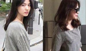 Song Hye Kyo mặc lại đồ cũ... 9 năm trước